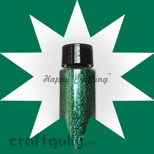 Glitter Super Fine - Emerald Green - 30ml