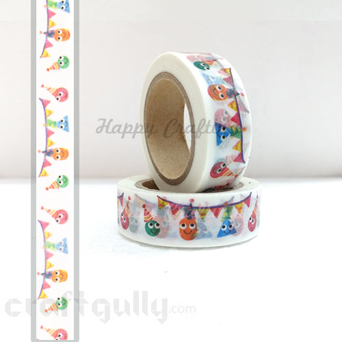Washi Tapes 15mm -  Pattern #13 - 10 meters