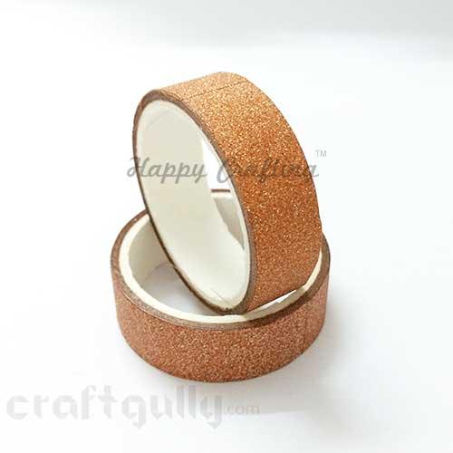 Shimmer Tapes 15mm - Copper - Pack of 1