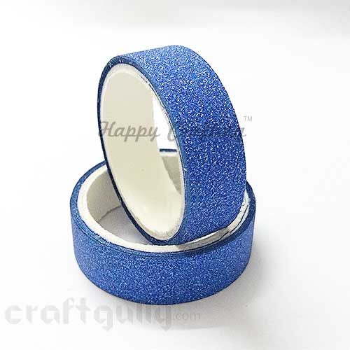 Shimmer Tapes 15mm - Royal Blue - Pack of 1