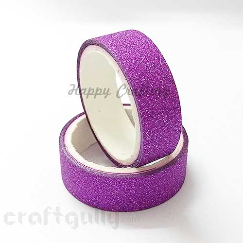 Shimmer Tapes 15mm - Magenta - Pack of 1