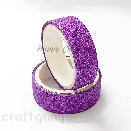 Shimmer Tapes 15mm - Purple - Pack of 1