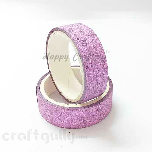 Shimmer Tapes 15mm - Lilac - Pack of 1