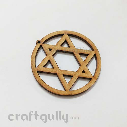 Laser Cut MDF Elements #2 - Star