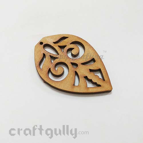 Laser Cut MDF Elements #5 - Leaf