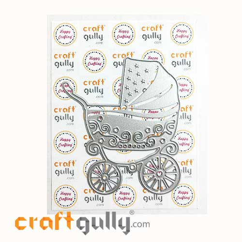 Dies - Metal - Baby Pram - Pack of 1