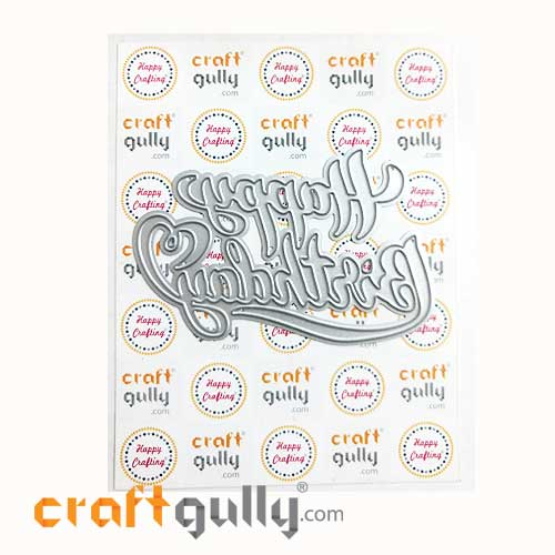 Dies - Metal - Sentiments Happy Birthday #3 - Pack of 1