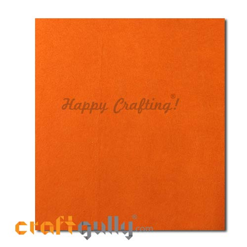 Fabric - Felt - Orange - 16 inches