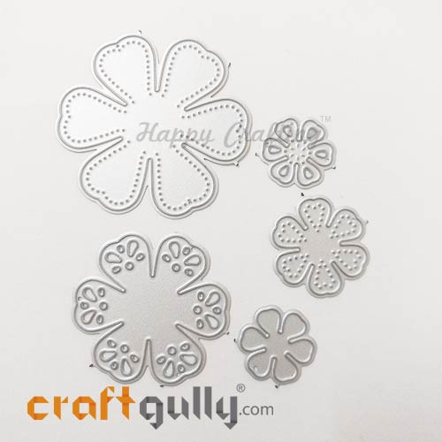 Dies - Metal - 3D Flowers #5 - Set of 5