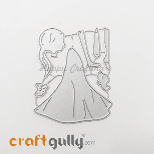 Dies - Metal - Silhouette Girl - Set of 7
