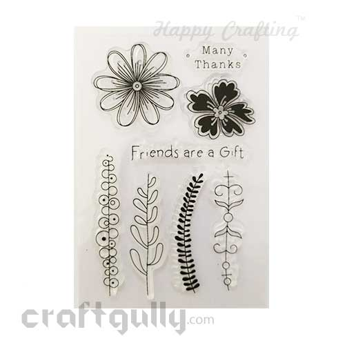 Clear Stamps #10 - 4x6 Inch - Many Thanks