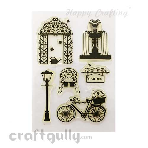 Clear Stamps #14 - 4x6 Inch - Park