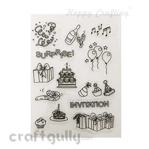 Clear Stamps #16 - 6x8 Inch - Surprise