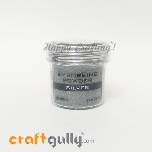 Embossing Powder - Rangers Silver - 0.63oz
