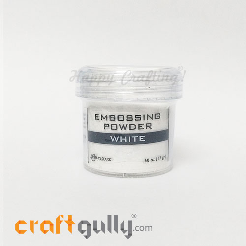 Embossing Powder - Rangers White - 0.60oz