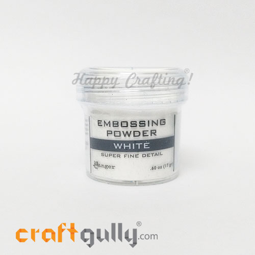 Embossing Powder - Rangers White Super Fine Detail - 0.60oz