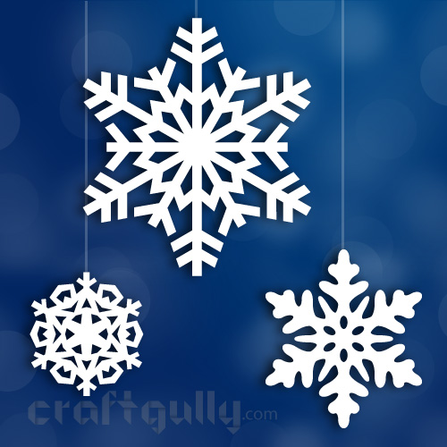 Free Paper Snowflakes eTemplate